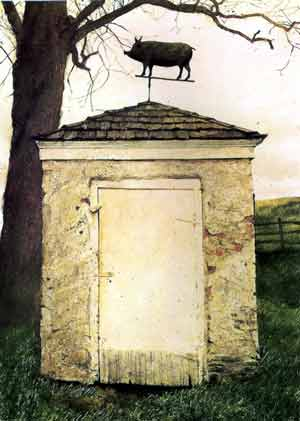 James Wyeth - The Pig House