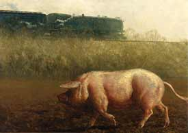 James Wyeth - Pig And The Train