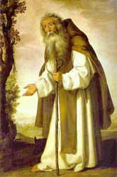 Francisco de Zurbarán - St. Anthony Abbot